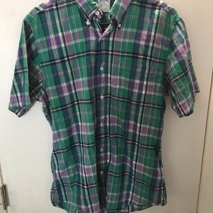 Brooks brothers button up short sleeve shirt.